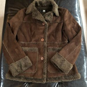 Brown fitted jacket